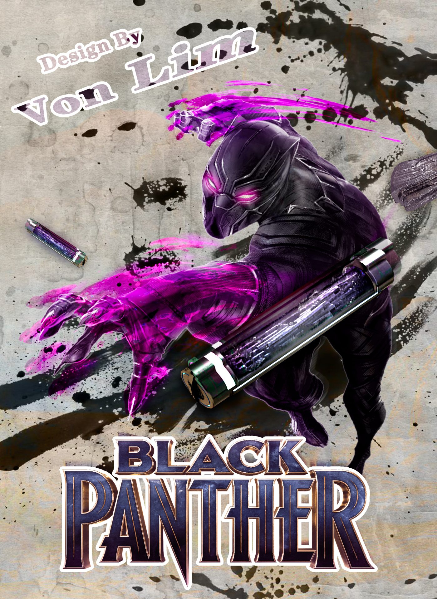 Black-Panther-Vps-Artwork-VonLim-VonProduction-MyVpsGroup