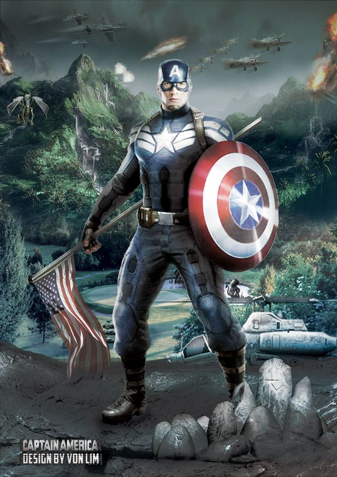 CaptainAmerica-Graphics-Design-Malaysia-Vps-Artwork-VonLim-VonProduction-MyVpsGroup
