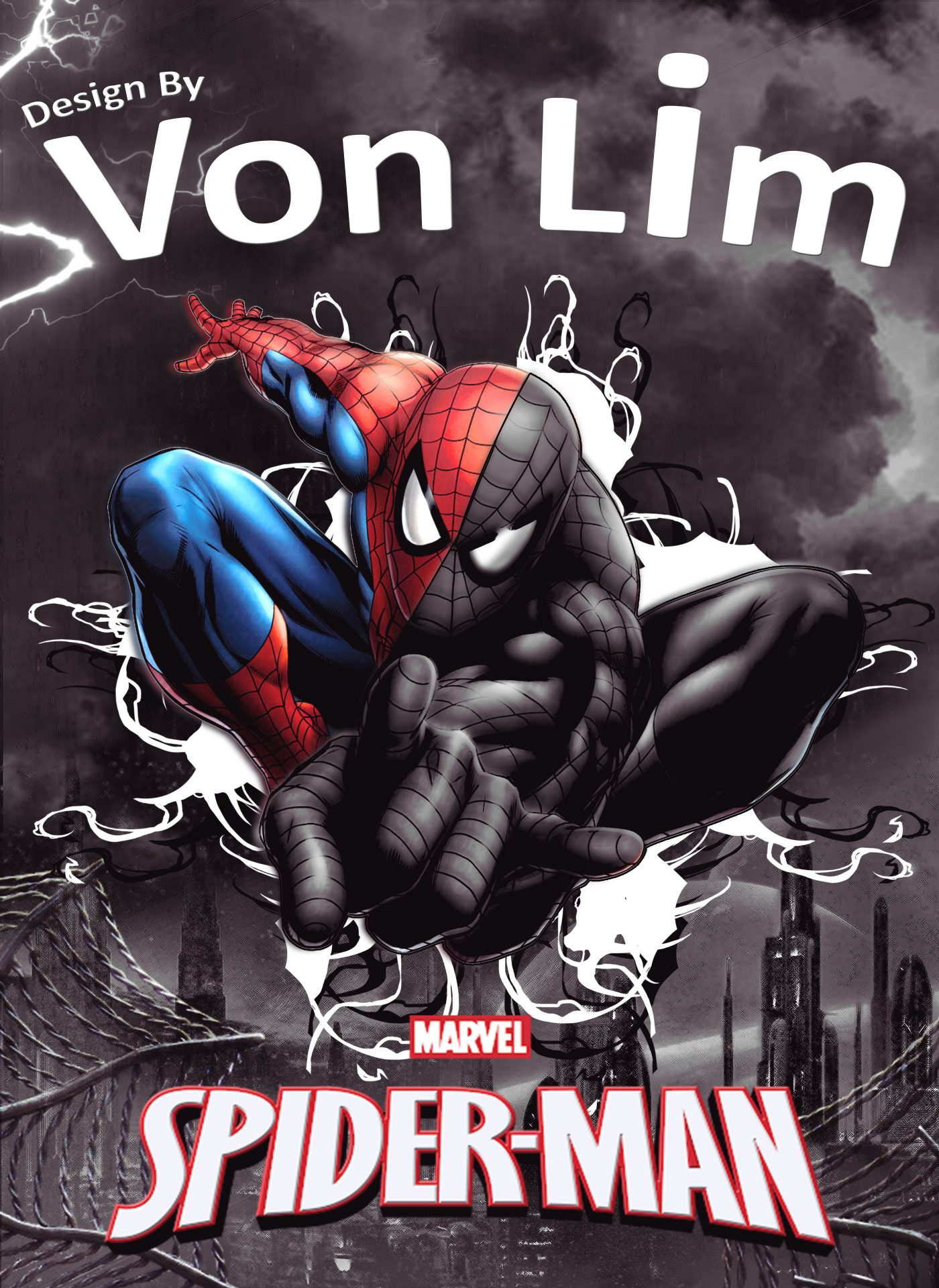 Spiderman-Vps-Artwork-VonLim-VonProduction-MyVpsGroup