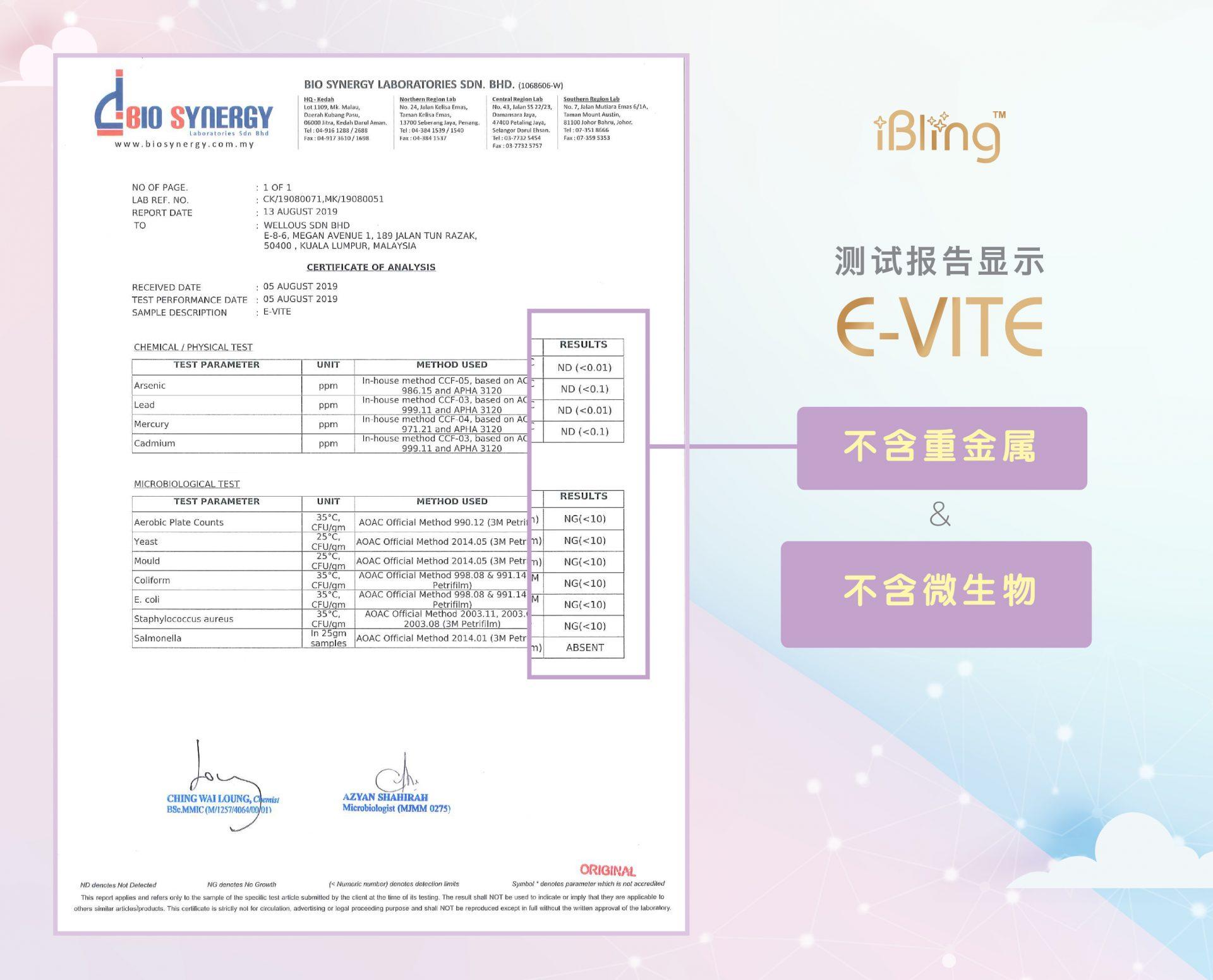 E-VITE_certificate_No Microbes_CHN